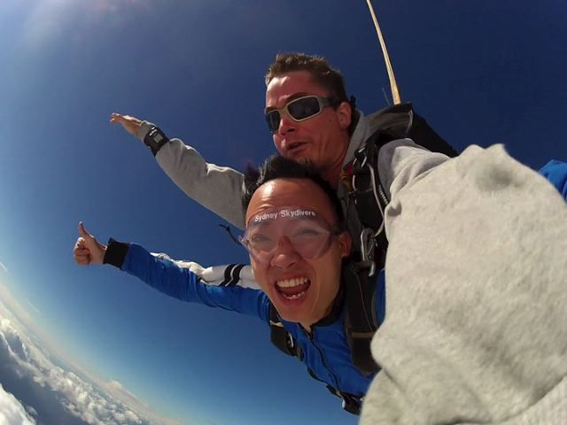 Skydiving in Sydney